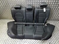 Mercedes-Benz C Class W205 2014 On Black Leather Rear Seats Assembly+WARRANTY