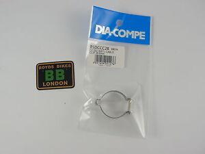 Dia Compe Brake Cable Clip 25.4 28.6 31.8 - Old School BMX - Red Blue Gold Black