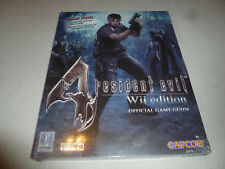 SEALED NEW RESIDENT EVIL 4 Wii EDITION GUIDE CAPCOM + EXTINCTION MOVIE POSTER >>