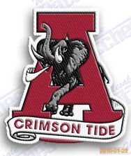 ALABAMA CRIMSON TIDE   iron on embroidered PATCH COLLEGE UNIVERSITY SPORTS