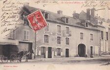 CPA 51 SAINT-MARTIN-d'ABLOIS Hotel des Trois Meules carte précurseur attelage