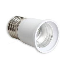 E27 to E27 Extension Base CLF LED Light Bulb Lamp Adapter Socket Converter New
