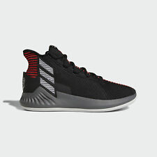 finest selection 847ed b8280 Adidas D Rose 9  AQ0039  Men Basketball Shoes Derrick Black White-Red