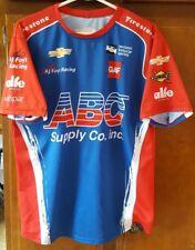 AJ Foyt Racing Pit Crew Shirt Carlos Munoz ABC Supply Firestone Sunoco Sz Medium
