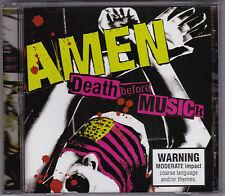 Amen - Death Before Musick - CD (eatURmusic Columbia 2004 Sony Australia)