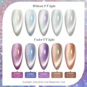 BORN PRETTY Sun sensitive Varnish Uv Magnetic Gel Nail Polish  Reflective gel Uk