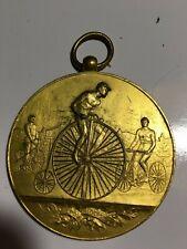 1880s Viintage Bicycle Racing Medal high wheeler etc