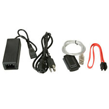 New USB 2.0 to IDE SATA S-ATA 2.5 3.5 HD HDD Adapter Cable Cord Durable US