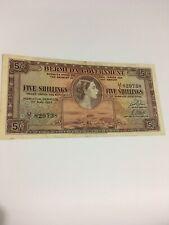 1957 5 Shillings Bermuda (VF). Lot # 134