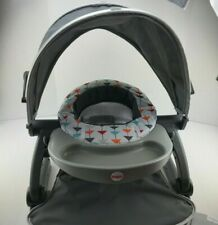 Fisher-Price Sit-Me-Up On-the-Go Floor Seat in Grey