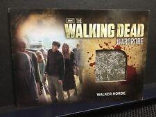 The Walking Dead Season 2 Trading Cards Wardrobe Walker Horde M30 AMC