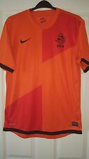 Homme Football Shirt-HOLLAND PAYS-BAS équipe nationale-Home 2012-14 - M Nike