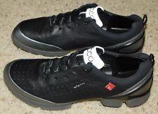 ECCO BIOM WALK 1.1 Mens 41~7/7.5 Black YAK LEATHER TRAINERS Walking Shoes $215
