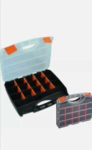 Neilsen 15 Compartment Box Storage Tool Organiser Case Screw Nail Nut Bolt Craft