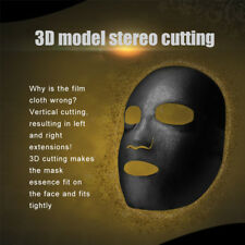 Black Facial Masks Bamboo Charcoal Mask Face Sheet Nourish Women Natural