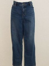 Talbots Crop Woman's Casual Jean's Cotton Blend Plus Size 16 1X   New