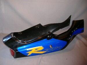 OEM Suzuki GSXR750 frame cover rear seat cowl tail light 1994