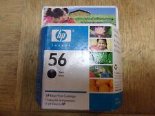 HP 56 Black Ink Cartridge New In Sealed Box -C6656AN-