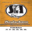 S.I.T. Strings P1356 - Phosphor Bronze Acoustic Strings Medium (13-56) for sale