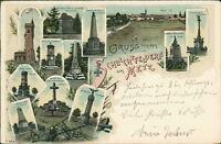 Ansichtskarte Schlachtfeldern um Metz um 1900  (Nr.871)