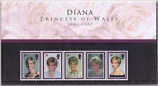 GB Presentation Pack 1998 Diana Princess of Wales Memorial