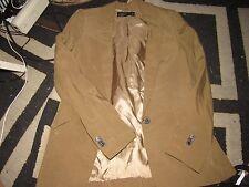Womens Olive Zara Woman Blazer Size S