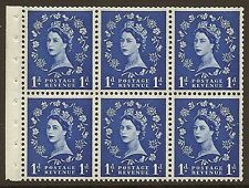 SB30 1D WILDING BLOCCHETTO riquadro PERF TIPO IE Unmounted MNT / MNH