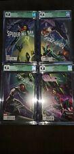 Set of 4 CGC 9.8 -.6Campbell - Spider-Woman 6 - Spider-Gwen 7 - Silk 7 - Alpha 1