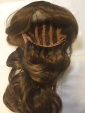 PrettyShop dark blonde/light brown shoulder length wig, new
