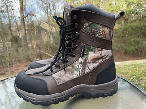 FIELD & STREAM Men's Size 11.5 CAMO THINSULATE HUNTING/WINTER Hydroproof Boots