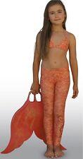 Mahina Mermaid, Mahina  Swimwear, Coral Merswim Set Age 12. Bikini Leggings