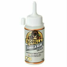 GORILLA GLUE CLEAR 110ML 🦍 Crystal-clear Non-foaming Adhesive 🦍 Invisible Fix