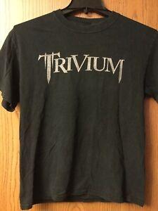 Trivium.   Shirt.   Black.  M