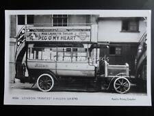 Omnibus LONDON PIRATES ALLEN Ad LAURETTE TAYLOR Pamlin Print Postcard No.M526