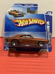 Hot Wheels 69 Dodge Charger Short Card XHTF