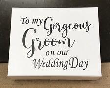 Gorgeous Groom Gift Box/ Groom Box/ Wedding Box