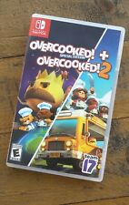 Like New - OVERCOOKED 1 + 2 Special Edition Double Pack - Nintendo Switch Game