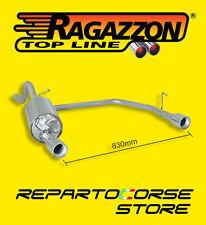RAGAZZON TERMINALE SCARICO SDOPPIATO FIAT GRANDE PUNTO 1.3 MJT 16V 55/66kW 09/05