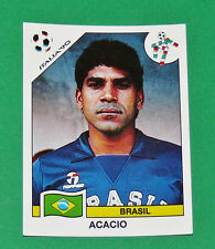 N°193 ACACIO BRESIL BRASIL PANINI COUPE MONDE FOOTBALL ITALIA 90 1990 WC WM