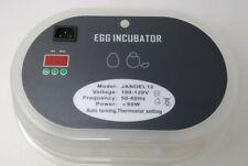 Egg Incubator Hblife 9-12 Digital Fully Automatic Incubator, Poultry Hatcher