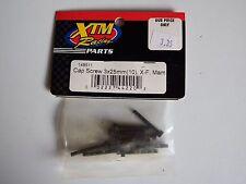 XTM Racing Parts - Cap Screw 3x25mm(10), X-F, Mam - Model # 148511 -Box 2