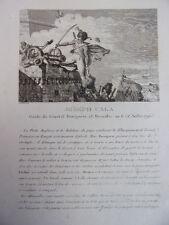 JOSEPH CALA Guide du Général Bonaparte 1796