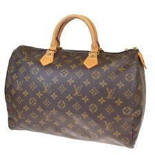 Auth LOUIS VUITTON Speedy 35 Travel Hand Bag Monogram Leather M41524 83BP781