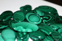 ~Wholesale Lot~Natural Green Malachite Multi Shape Cabochon Loose Gemstone