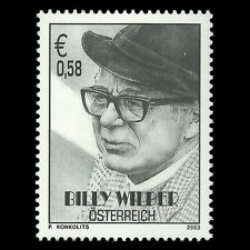 Austria 2003 - Billy Wilder Director Famous People - Sc 1913 MNH