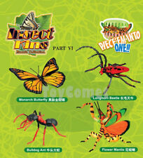 Set of 4 Insect King Part VI Animal 4D 3D Puzzle Realistic Model Kit Toy