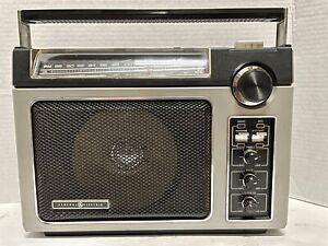 Vintage GE 7-2880B Super Radio Long Range AM / FM General Electric Tested Works