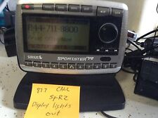 READ SIRIUS SPORTSTER SP-R2 replacement RECEIVER ONLY PRE FCC 87.7 LIGHTS OUT