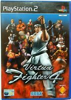 Virtua Fighter 4 (Sony PlayStation 2, 2002, PAL) PS2