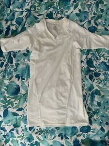 IntelliSkin Posture Shirt White Short Sleeve Women Small